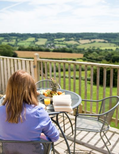 In-House Menu and Stunning Views
