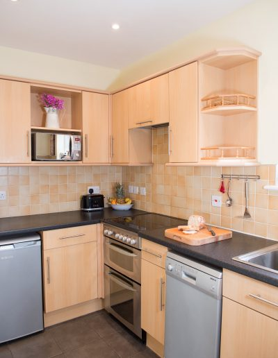 Fully Stocked Kitchen with everything you'll need for your stay
